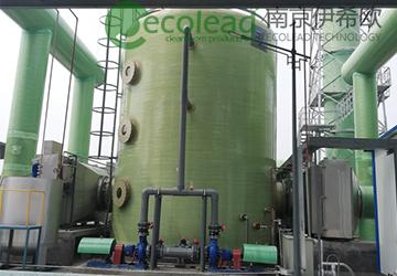 北控环境寿光工业固废处置中心风管型自动卷绕式过滤器