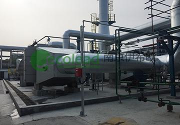 大庆石化化工三厂风管型自动卷帘式除尘过滤设备
