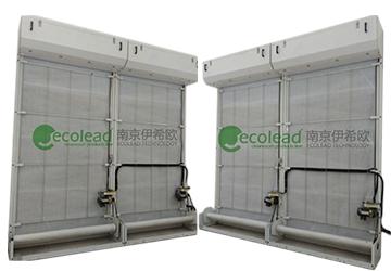上海松江西部污水厂升级改造自动卷绕式过滤器