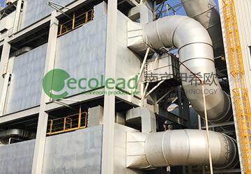 合肥日立建机(Hitachi Construction Machinery)-挖掘机涂装废气VOC治理卷帘过滤器