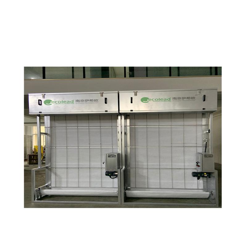镀锌方管材质自动卷绕式过滤器