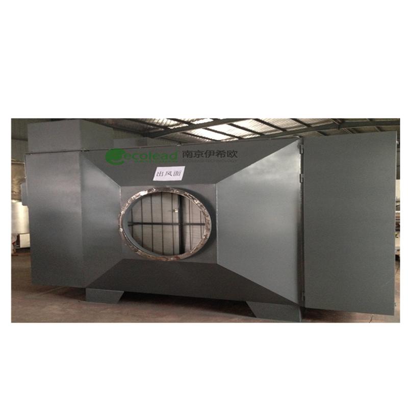 风管型自动卷绕式空气除尘过滤器