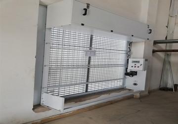 武汉荆门市杨树港污水厂-标准型自动卷帘式过滤器