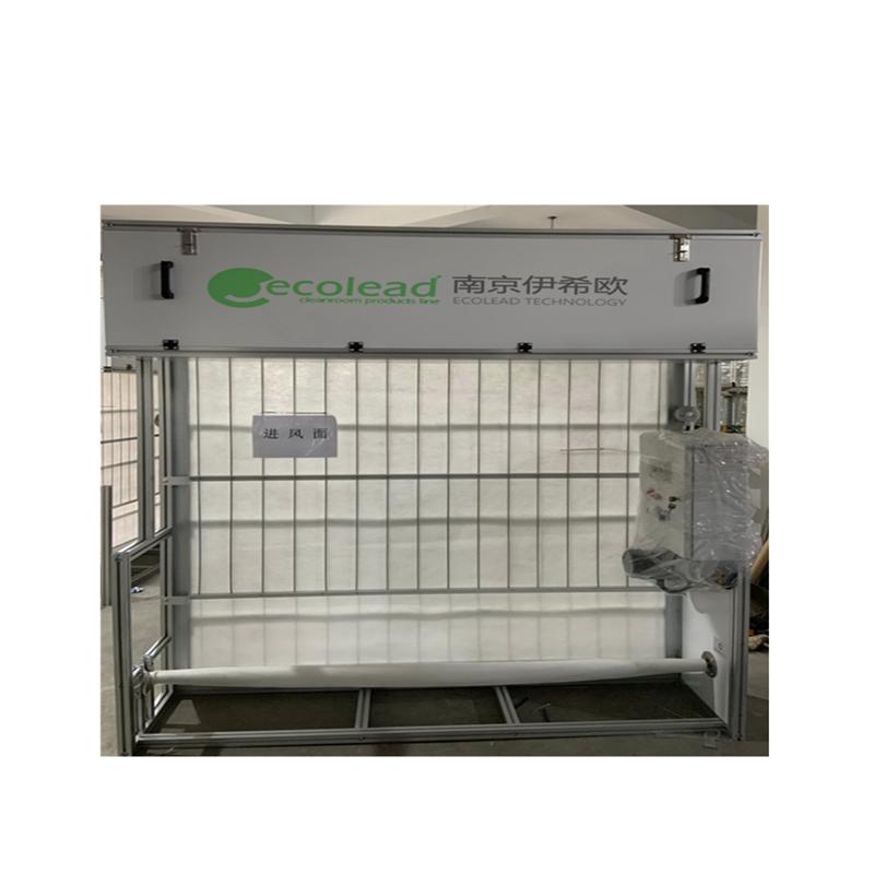 污水处理厂专用自动卷绕式空气过滤器