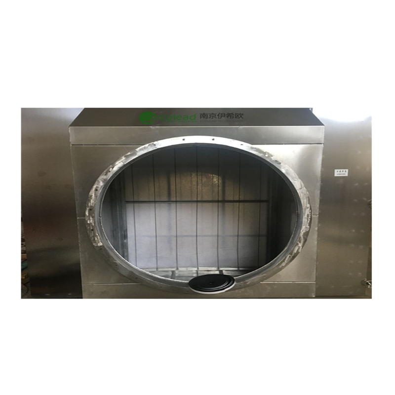 标准型卧式自动卷绕式空气过滤器