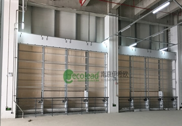 深圳华星光电t7厂区自动卷绕式空气过滤器