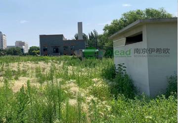 长春动植物园污水处理厂电动卷帘除尘器
