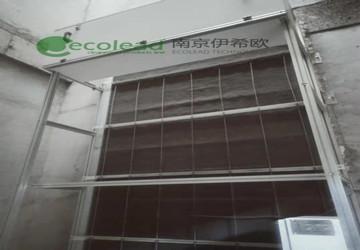 清徐泓博污水处理有限公司鼓风机房卷绕式过滤器