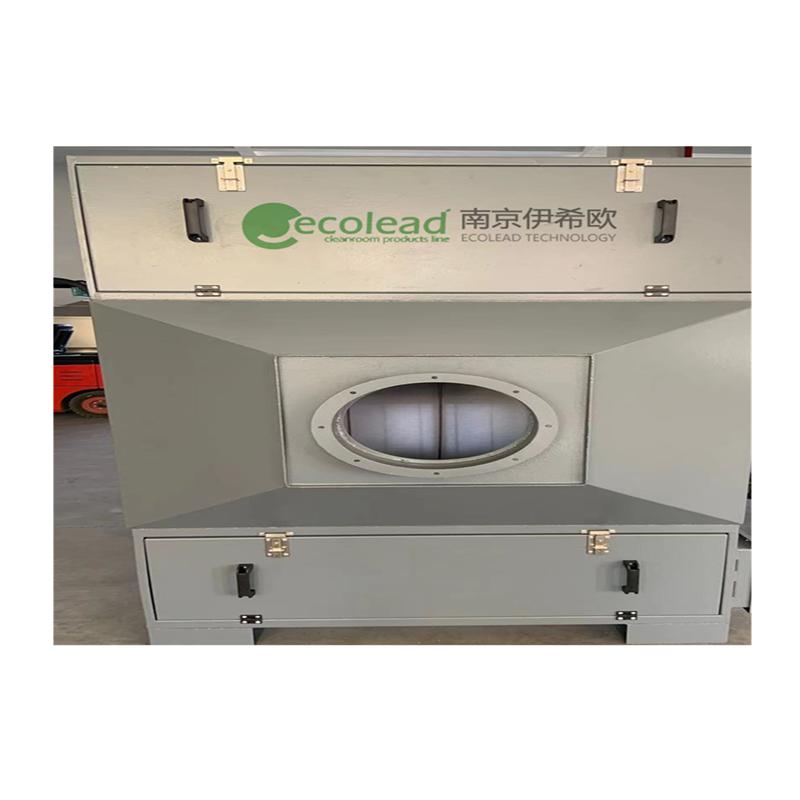 南京伊希欧风管型内置式自动卷绕式过滤器