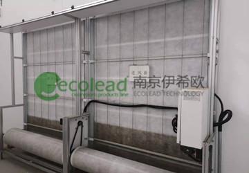 合肥蔡田铺污水厂自动卷绕式过滤器
